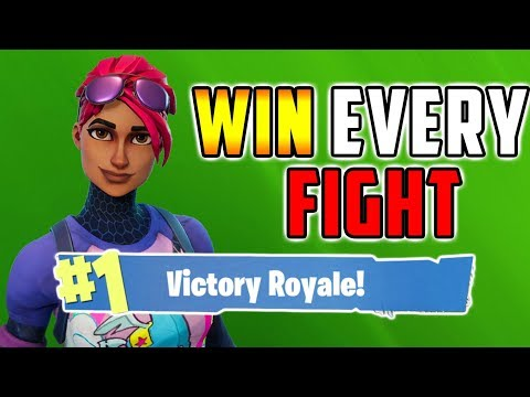 HOW TO WIN EVERY FIGHT - Fortnite Battle Royale Tips - XBox, PS4, PC, Mobile