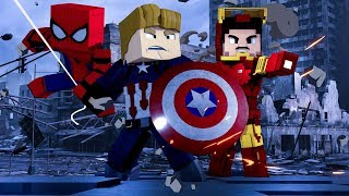 Minecraft: AVENGERS - ESCADONA ‹ AMENIC ›