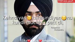 PAGG WALI SELFIE PREET HARPAL WHATSAPP STATUS VIDEO