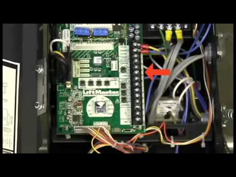 [SODI_2457]   How to Install the LiftMaster Commercial Protector System, Model CPS OPEN4  - YouTube | Lift Master Commercial Door Wiring Diagram |  | YouTube