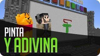 Pinta y Adivina!! BOAHAHAH | Minecraft