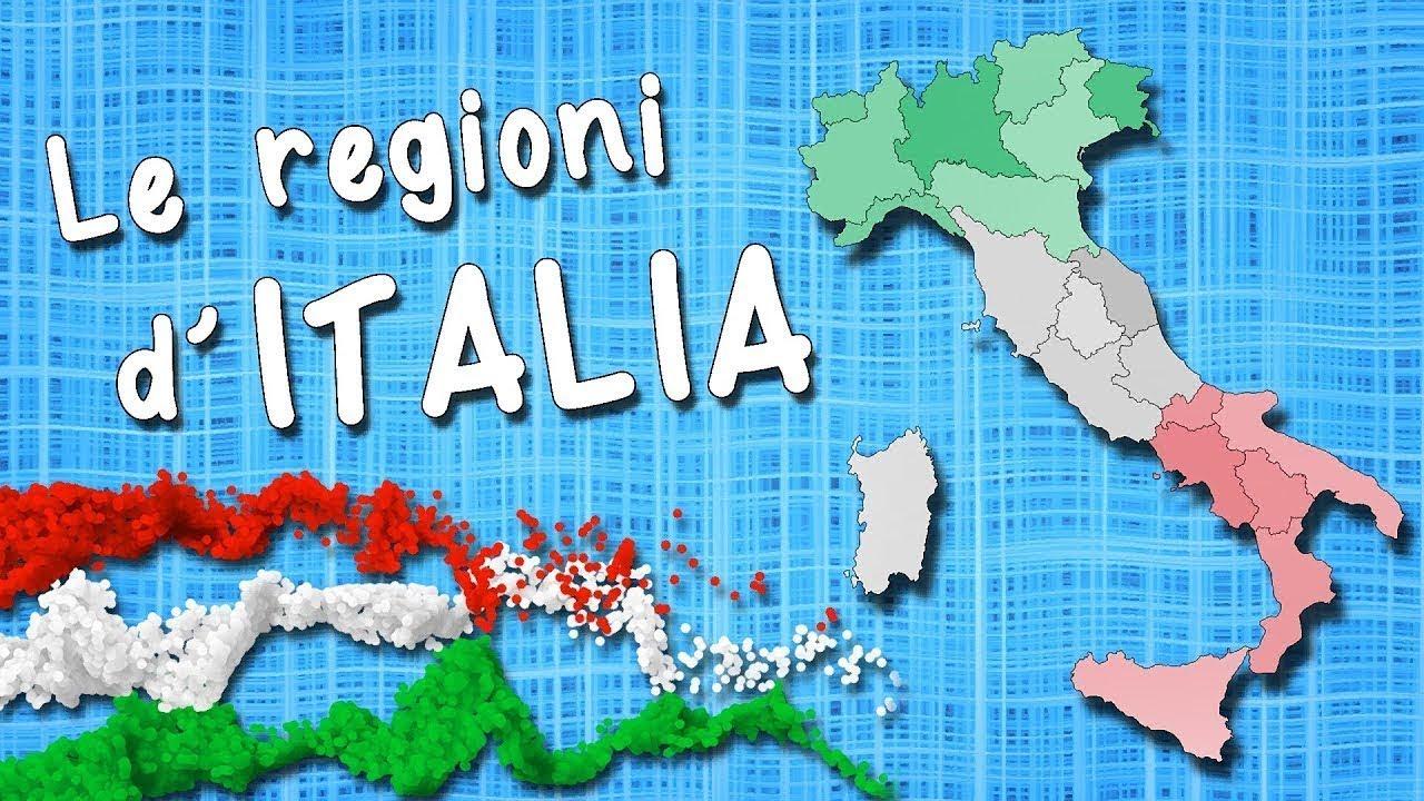 Cartina Dellitalia Regioni.Regioni D Italia Capoluoghi Regioni Italiane Capoluoghi Italiani Youtube