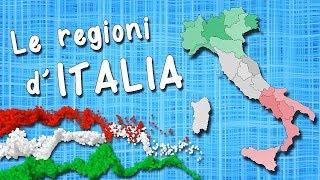 Cartina Politica Italia Con Capoluoghi Di Regione.Regioni D Italia Capoluoghi Regioni Italiane Capoluoghi Italiani Youtube