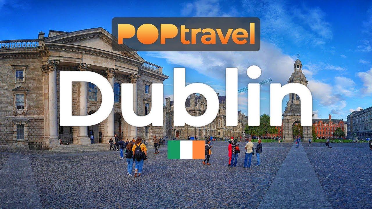 Walking in DUBLIN / Ireland ??- City Tour (2019) - 4K 60fps (UHD)