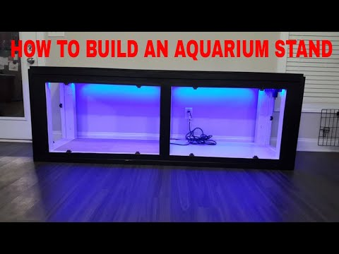 HOW TO BUILD A FISH TANK STAND FOR YOUR AQUARIUM