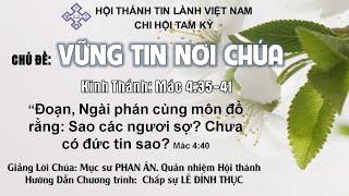 HTTL TAM KỲ - Chương trình thờ phượng Chúa - 03/05/2020