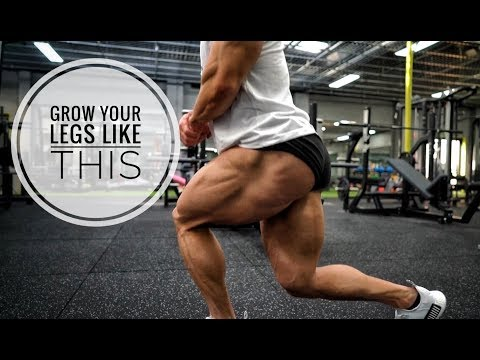 THIS IS HOW I GOT BIG LEGS | My Staple Routine.