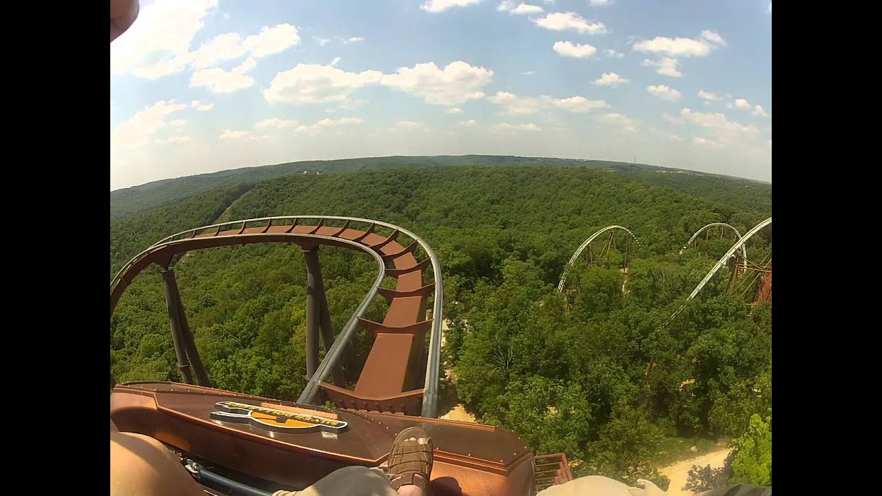 ... at Silver Dollar City (Branson MO) Front Seat POV - YouTube