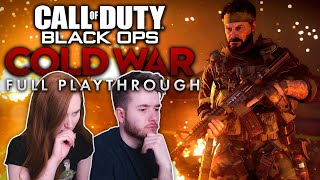 Call of Duty Black Ops: Cold War | Full BLIND Playthrough W/ Elva [Live/PS5]