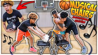 Hilarious Basketball MUSICAL CHAIRS Challenge!!😂🎶  *MUST WATCH*