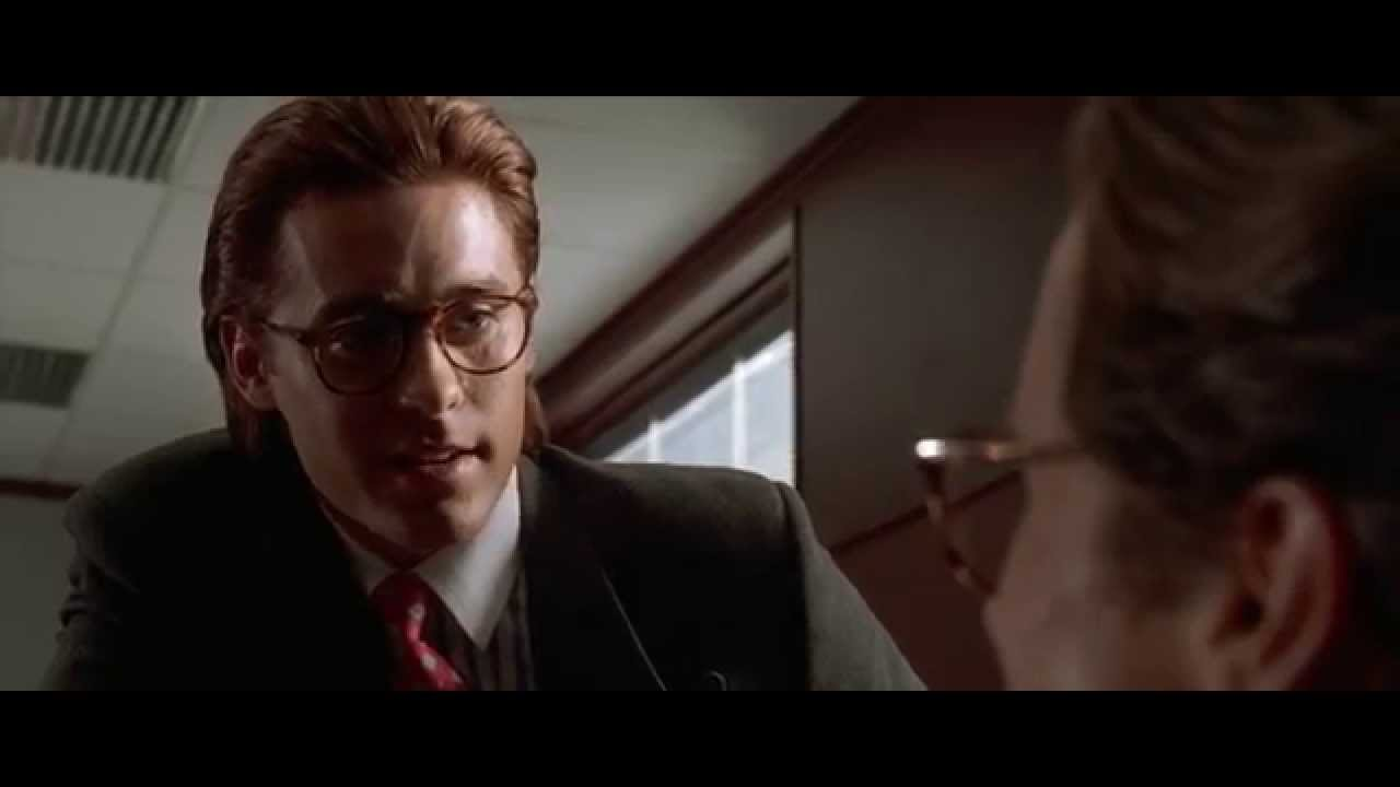 American Psycho Business Card Scene - YouTube
