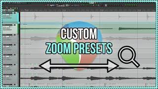 Custom Horizontal Zoom Presets in REAPER