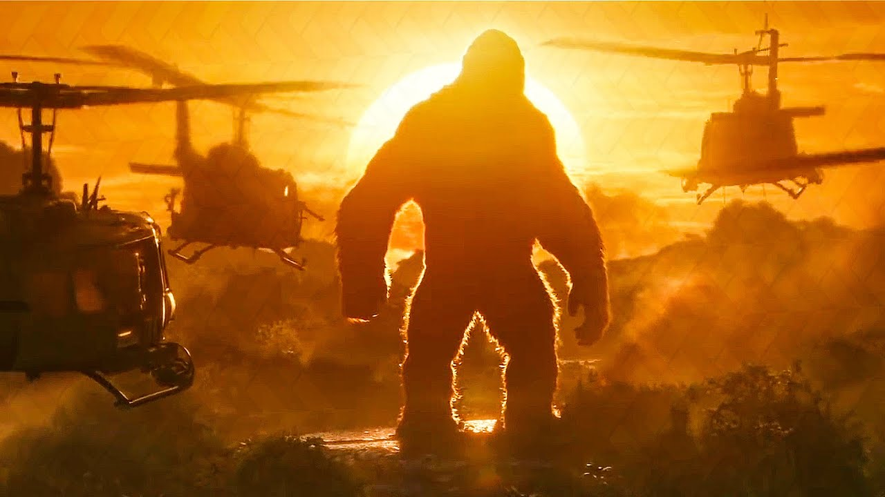 Download Kong vs Helicopters - Is That A Monkey? Scene - KONG: SKULL ISLAND (2017) Movie Clip