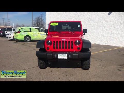 2015 Jeep Wrangler St. Charles, Aurora, Glendale Heights, Naperville, North Aurora, IL 19746-1