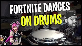 Fortnite Dances Played on Drums Ep. 1 - Fortnite