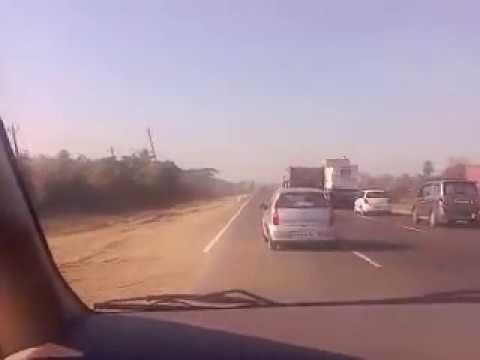 National Highway 8 near Vapi
