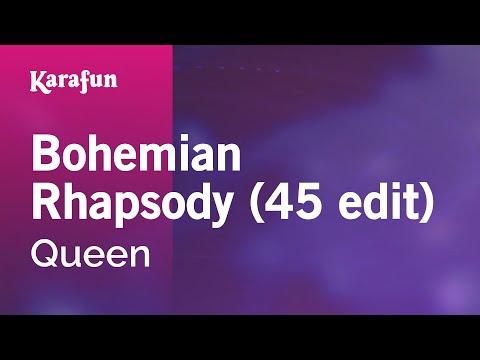 Karaoke Bohemian Rhapsody (45 Edit) - Queen *