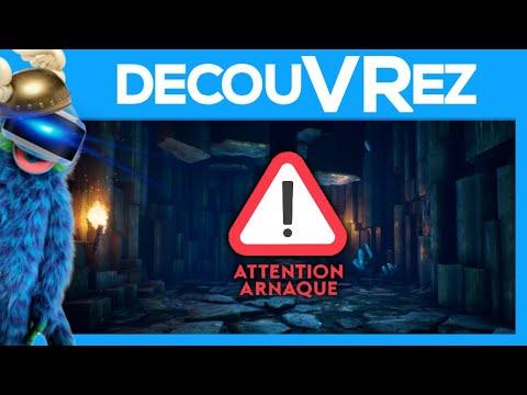 DécouVRez : COMMENT GASPILLER 15 EUROS FACILEMENT   Jeu PSVR   VR Singe