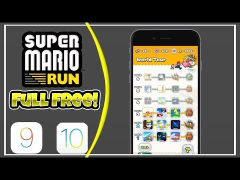 The Only 4 Ways To Get Super Mario Run Full For Free!