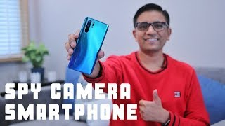 The Best SPY Camera Smartphone? 50X @ ₹71,990 - Huawei P30 Pro Review