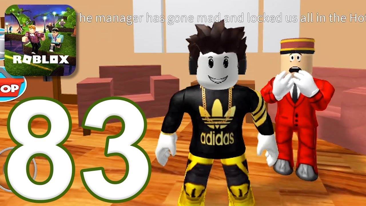 Guide For Roblox Escape The Evil Dentist Obby For Android Roblox Gameplay Walkthrough Part 83 Hotel Escape Obby Ios Android Vloggest