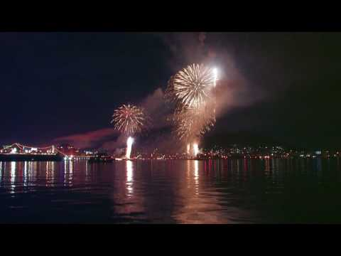 【北海道の絶景】2010 函館港花火大会 ★Hakodate port fireworks