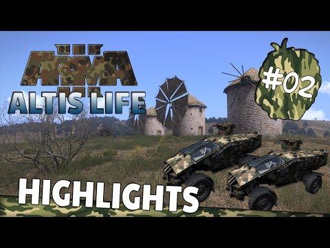 Krieg & Banküberfall - Action vorprogrammiert! - Altis Life Highlights