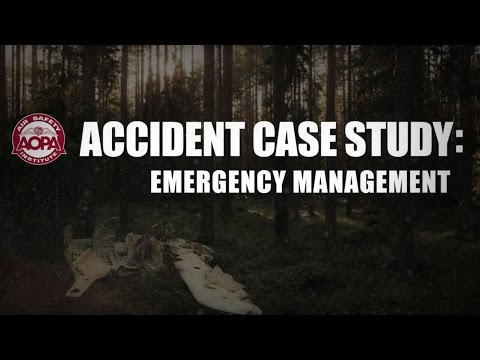 Accident Case Study: Emergency Management