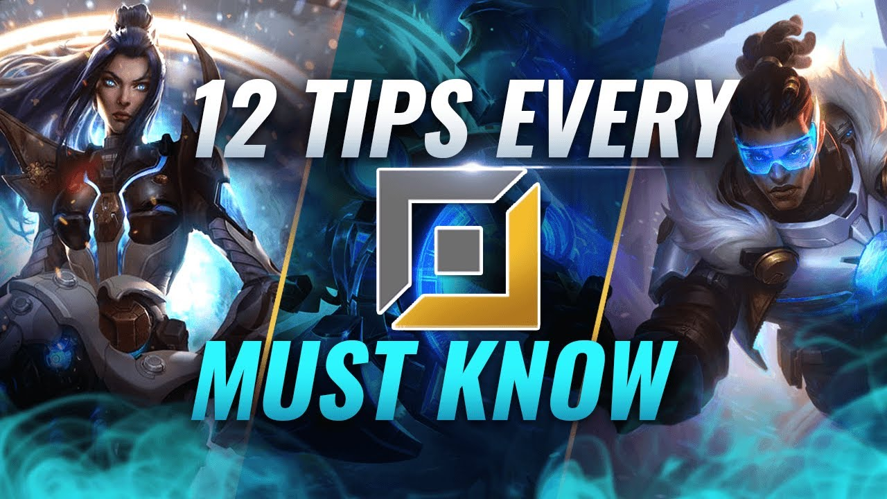 12 INSANE Tricks EVERY ADC MUST KNOW - League of Legends Season 10