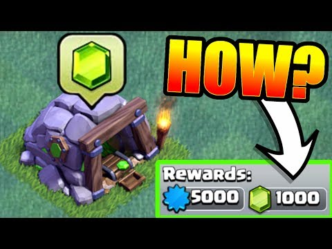 HOW TO GET 1000 FREE GEMS IN THE BUILDERS HALL VILLAGE!! - Clash Of Clans NEW ACHIEVEMENTS!