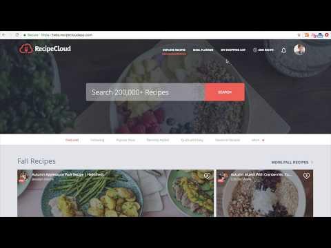 Web App Series: Add Recipe From URL