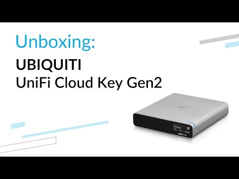 Ubiquiti UniFi Cloud Key Gen2 Plus - unboxing - YouTube