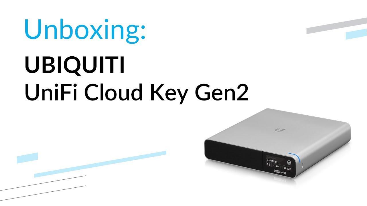 Ubiquiti UniFi Cloud Key Gen2 Plus - unboxing