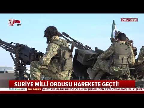 Suriye milli ordusu sınıra hareket etti ! / A Haber / 09.10.2019