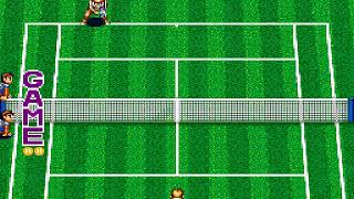 Super Final Match Tennis Japan FROM SNES SUPER NES HYPERSPIN NOT MINE VIDEOS