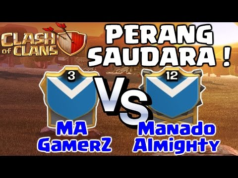 Cara Menantang Clan Teman (Friendly Clan War Challenge) - COC INDONESIA
