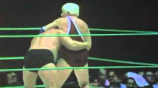 "The Crusher vs Blackjack Mulligan and ""Pretty Boy"" Bobby Heenan"