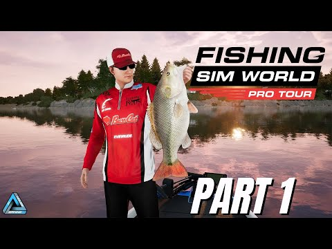 Let's Play! Fishing Sim World Pro Tour Part 1 (Xbox One X)