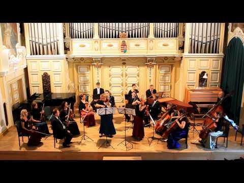 Vivaldi: B-dur versenymű - Kaulics-Nagy Zsófia és Bekes Anna - Reményi Ede Kamarazenekar
