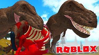 Primal Life Roblox - Caçando Um Triceratops, Manada De Dinossauros! | (#20) (PT-BR)