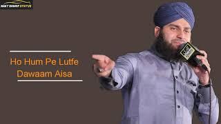 Dar E Nabi Par Yeh Umr Beete | Hafiz Ahmed Raza Qadri | Owais Raza Naat Status
