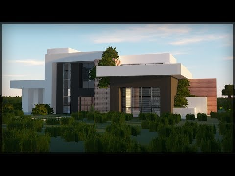 ✔ BUILDING MINECRAFT MODERN HOUSE! - Realistic RayTracing 2020 GRAPHICS!