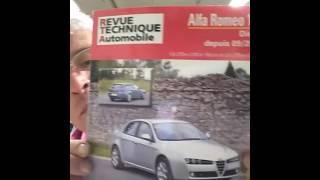 Réparation alfa 159 ,150cv,voiture qui c'est mise an mode dégradé 80klm  maxi