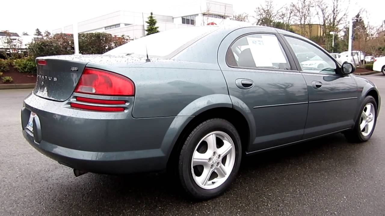 2006 dodge stratus sxt midnight blue pearl stock. Black Bedroom Furniture Sets. Home Design Ideas
