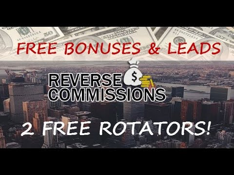 Reverse Commissions System | Free Rotator | Business Review| Team Support | FREE Leads
