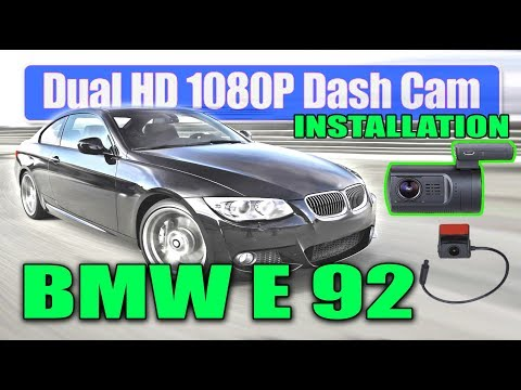 Dual Dashcam Mini 0906 - BMW E92 Coupe