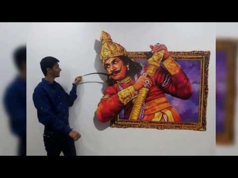 3D Art Museum - Hem Nar in Mayajaal Multiplex, Chennai, India.