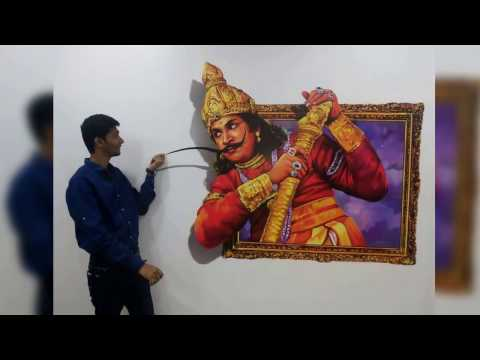 3D Art Museum - Hem Nar in Mayajaal Multiplex, Chennai, India.