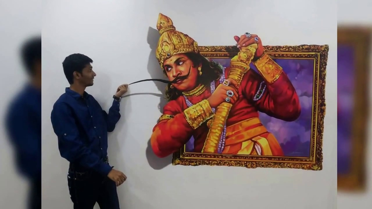 3d art museum hem nar in mayajaal multiplex chennai for 3d mural art in india