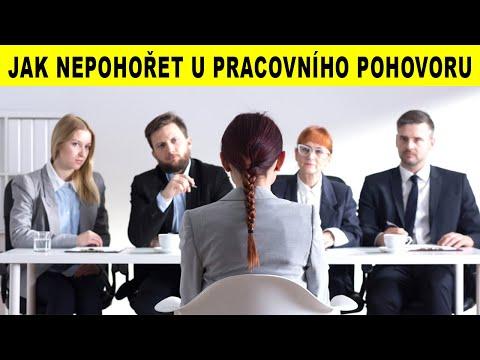 TOP 5 JAK NEPOHOŘET U PRACOVNÍHO POHOVORU